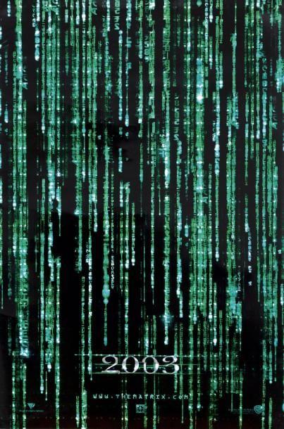 MATRIX RELOADED / THE MATRIX RELOADED Film d'Andy et Larry Wachowski (2003). Affiche lenticulaire non signée (100x70 cm). Fabriquée aux États-Unis - Kapandji Morhange - 06/10/2014