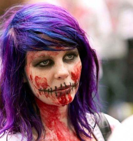 Dicas para fazer uma maquilhagem de zombie - http://www.comofazer.org/outros/dicas-para-fazer-uma-maquilhagem-de-zombie/