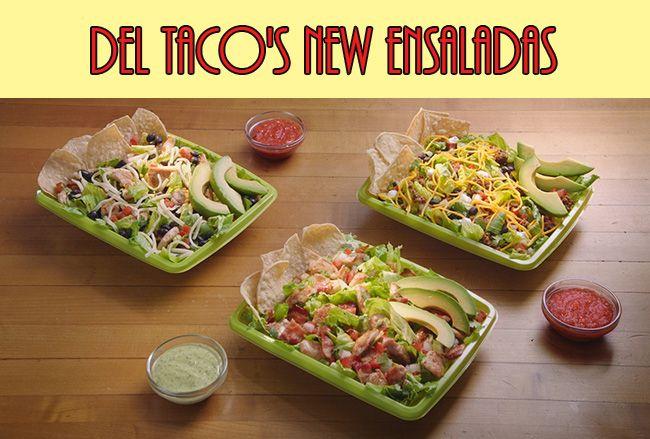 Del Taco's New Ensaladas + Del Taco Gift Card Giveaway