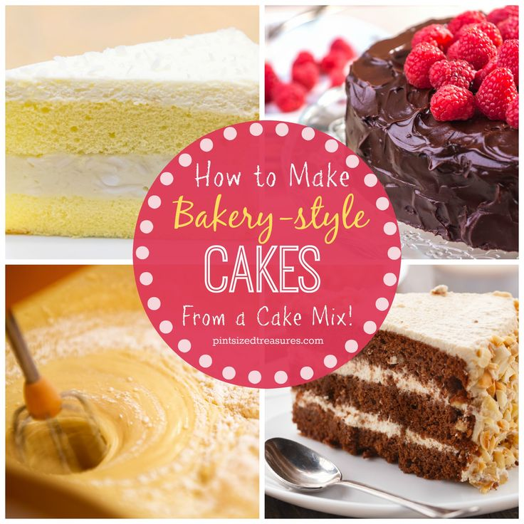 Learn how to make bakery-style cakes from a cake mix! These three secrets will help your cakes go from dry and boring to fantabulously moist and dense!