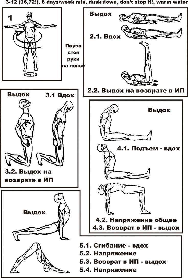 """Тибетская гимнастика """"Око возрождения"""" - тренировочная карточка, конспект тренировки"""