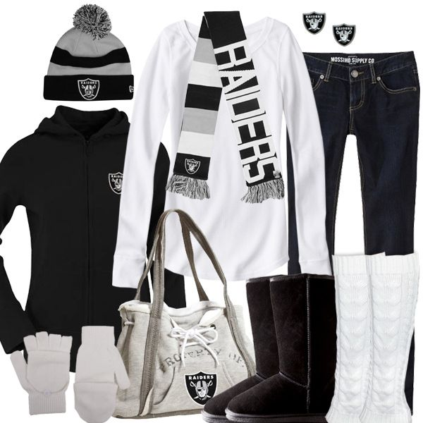 Oakland Raiders Winter Fashion