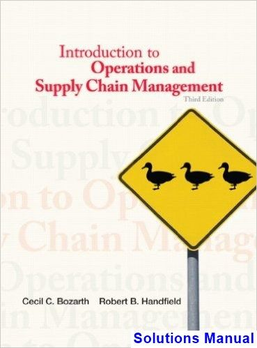 53 best solution manual download images on pinterest key introduction to operations and supply chain management 3rd edition bozarth solutions manual test bank fandeluxe Image collections