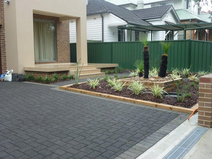 HydroSTON permeable concrete pavers used for a driveway at Anglo Square, Carlton NSW, Australia.