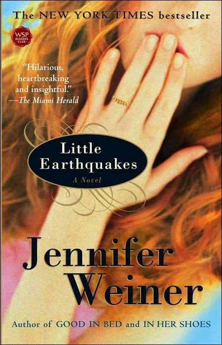 'Little Earthquakes' by Jennifer Weiner. One of her best. I'm not into 'chick' books at all, but Weiners stories are beyond the 'cheesiness' of a typical 'chick' story. Well worth the read.