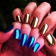 Image result for mirror nails