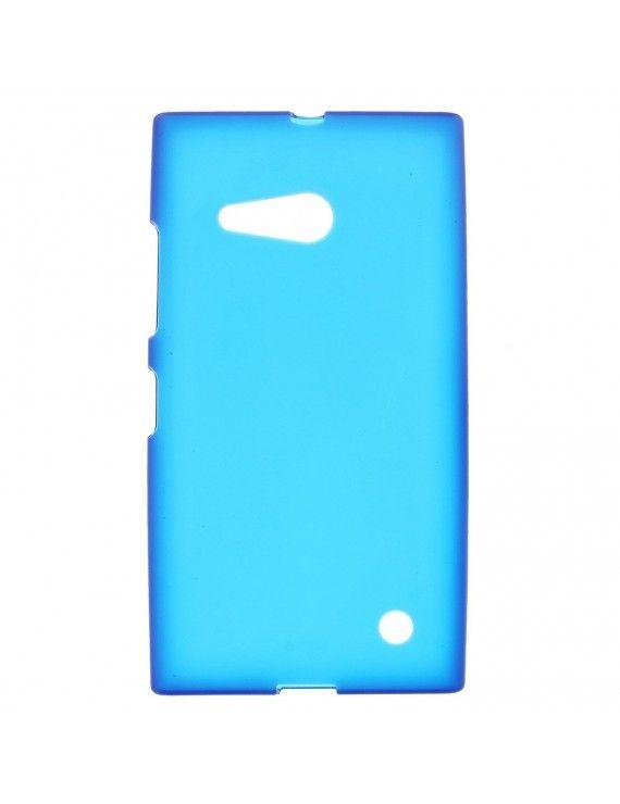 Θήκη Σιλικόνης TPU Ματ για Nokia Lumia 730 Dual SIM RM-1040 - Μπλε