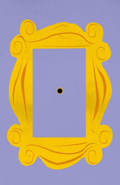 Door Frame: Friends Door Frame