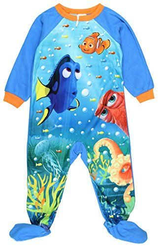 Finding Dory Nemo Toddler Girls Boys Footed Pajamas Blanket Sleeper 3t Finding Dory  Boys * Be sure to check out this awesome product.