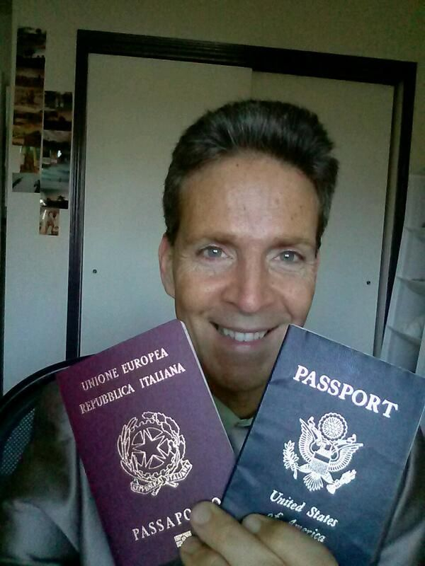 Prego, Tony... It was a privilege putting that Italian passport in your hand (and yes - Home has just gotten a MUCH bigger!)