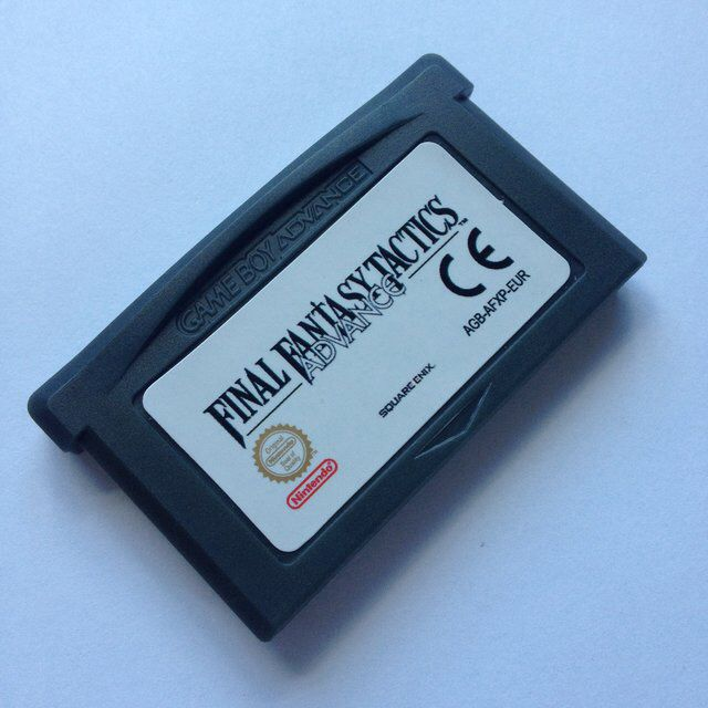Final Fantasy Tactics Repro Cart for Nintendo Gameboy Advance.