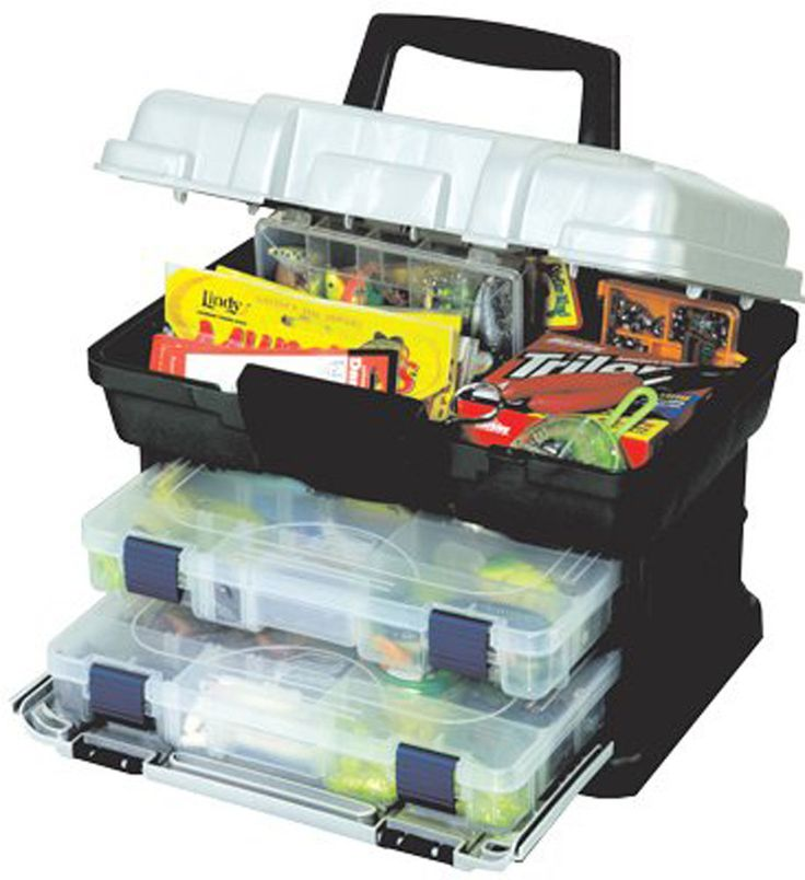 Fishing Tackle Box Lures Gear Hooks Organizer Tray Bait Bulk Storage Case Drawer #Plano