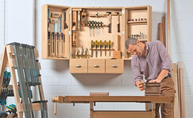 Werkzeugschrank bauen