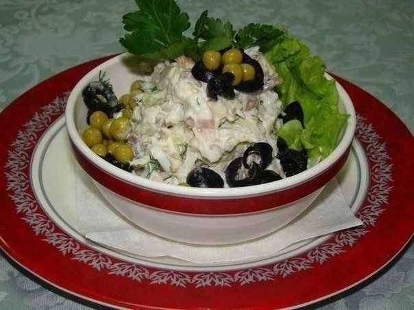 Salad «Meat Cucumber»