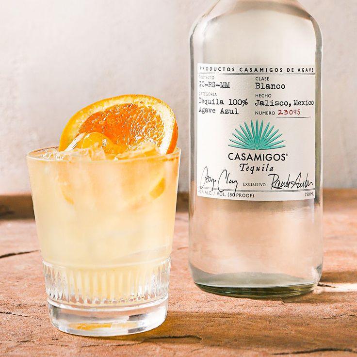 CASAMIGOS MARGARITA LIGHT 1 1/2 oz. Casamigos Blanco Tequila 3/4 oz. Fresh Lime Juice 1/4 oz. Fresh Orange Juice 1/2 oz. Agave Nectar Shake ingredients with ice then strain and serve on the rocks. Garnish with orange wheel.