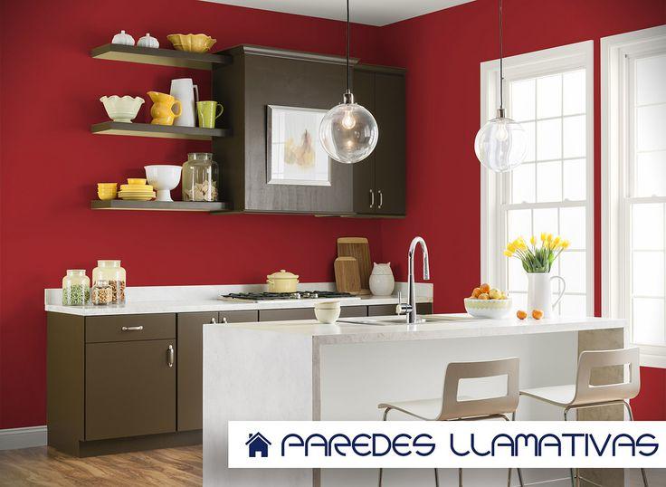 Cocinas con paredes pintadas cmo pintar azulejos paso a - Colores paredes cocina ...