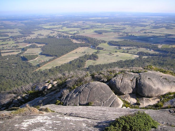 """David (sugarbag1) On top of Devils Slide, Photo taken in Porongurup National Park, Porongurup WA 6324, Australia 34° 40' 42.22"""" S 117° 51' 46.96"""" E Google Panoramio Uploaded on May 17 2009 © All Rights Reserved"""