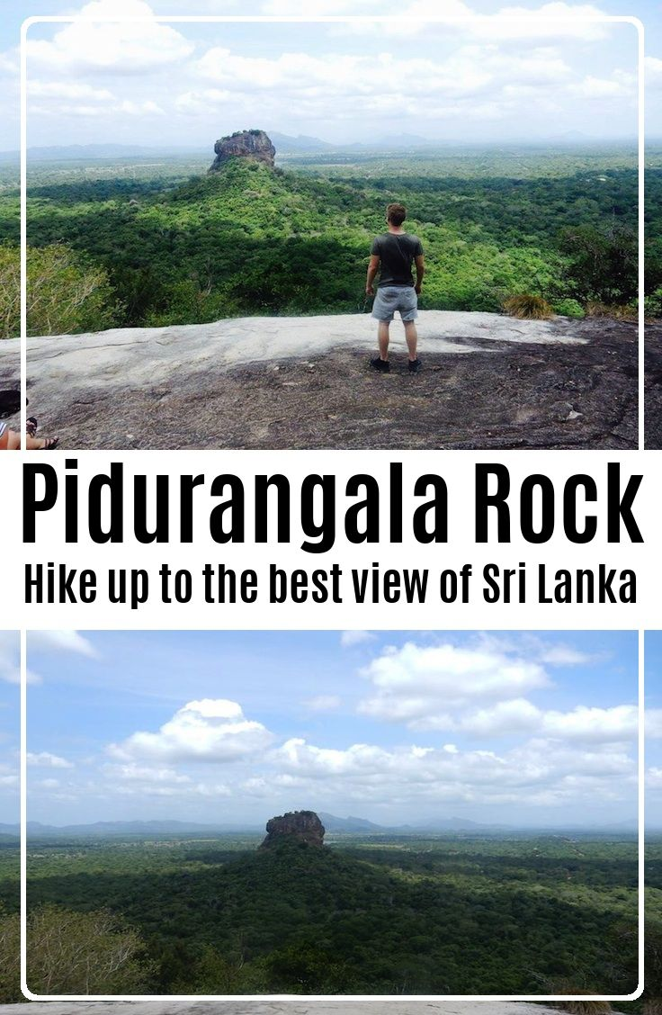 Hike ut to the best view of Sri Lanka - the Pidurangala Rock