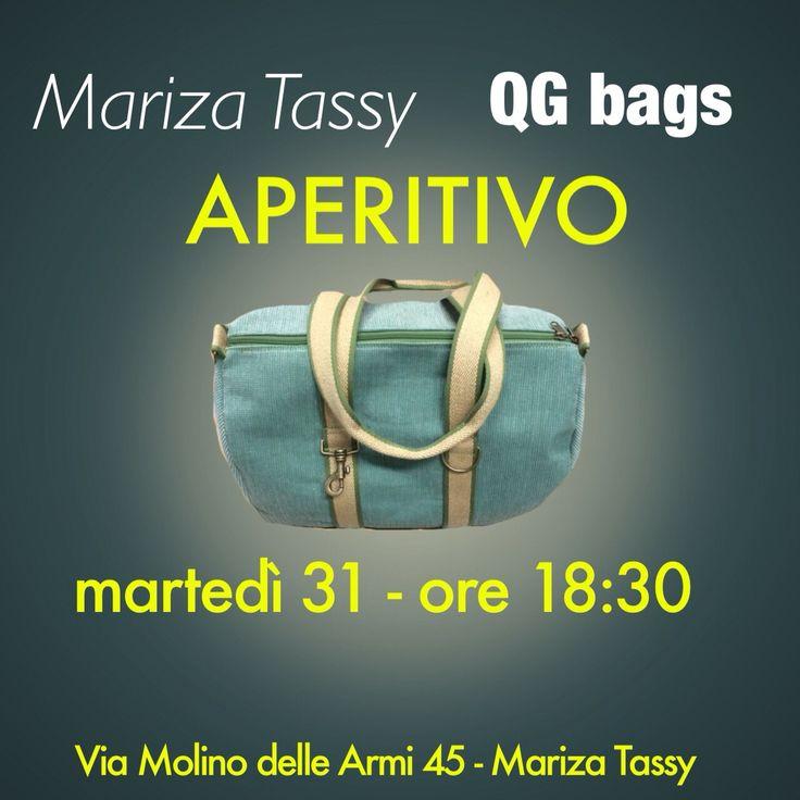 QG bags da Mariza Tassy - Martedì 31 marzo - ore 18:00/22:00 - presentazione bauletto rigido