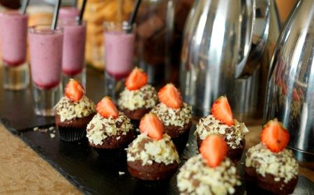 Lovely mini treats in the Limerick Strand Hotel! #Food #Foodie #Limerick #Dessert #Smoothie #Fresh