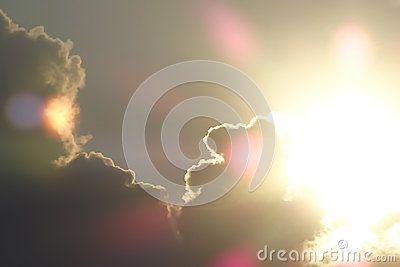 Storm weather lens flare sky desktop background