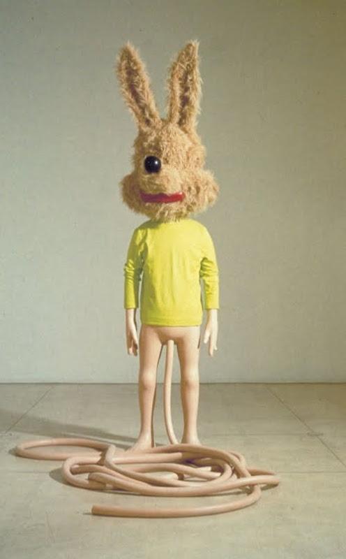 spaghetti man - paul mccarthy. Art Experience:NYC http://www.artexperiencenyc.com/social_login