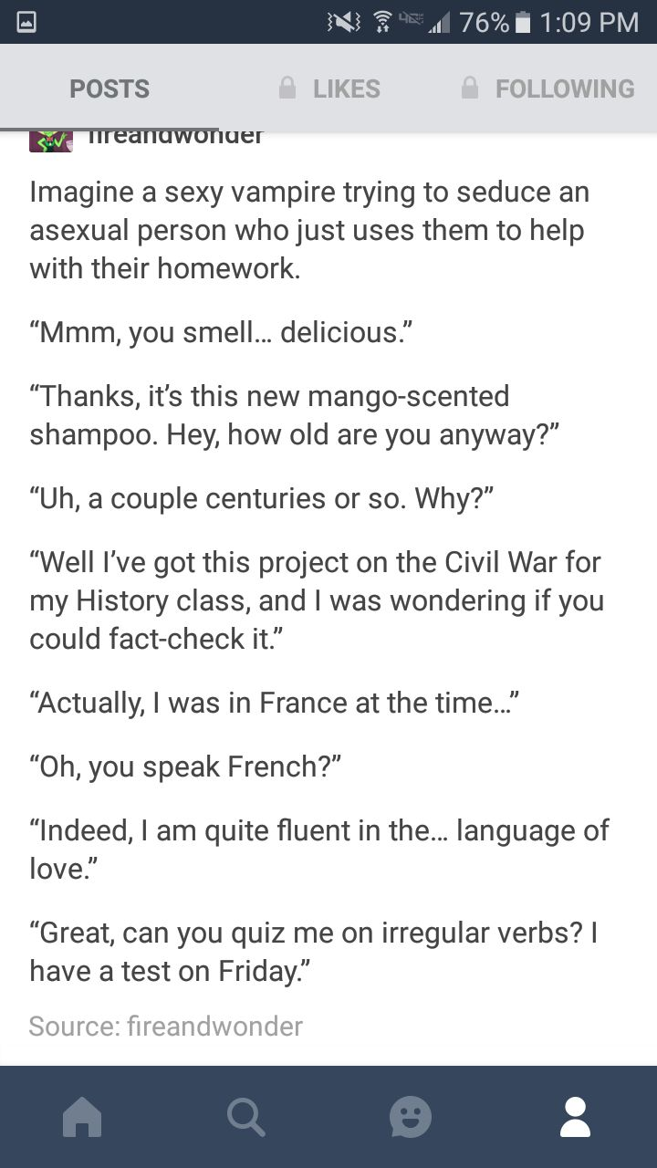 The funniest thing here is irregular verbs. In french. French is full of irregular verbs like they are all so weird