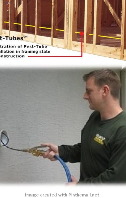 Install An In Wall Pest Control System Pest Tube