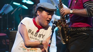 John Kelly in Reasons to be Cheerful - Graeae Theatre