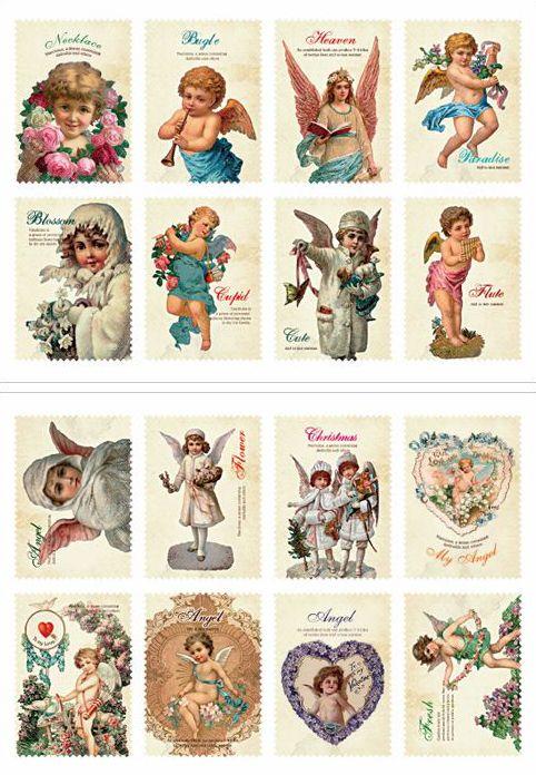 Vintage style angels & cherubs