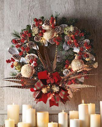 25 Unique Pre Lit Christmas Wreaths Ideas On Pinterest