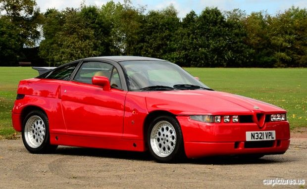 1990 Alfa Romeo SZ Coupé, I love this car, you either love or hate the SZ, and we love ours....it is real head turner, as we travel down the roads.....its great...