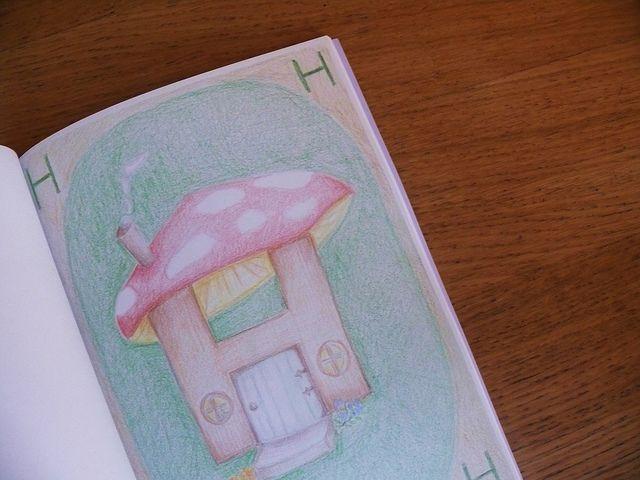 Waldorf ~ 1st grade ~ Letter: H ~ main lesson book