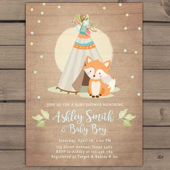♥ A cute gender neutral baby shower invite! You will receive READY-TO-PRINT DIGITAL files that you can print at home or in any local or online print shop! -------------------------------------------------------- HOW DO I ORDER? -------------------------------------------------------- ♥ All you have to do is purchase this item and leave in the message to seller box: - Name(s) - Time and date - Location - RSVP info - Registry info - Any other wording you would like to change / include ♥ ...