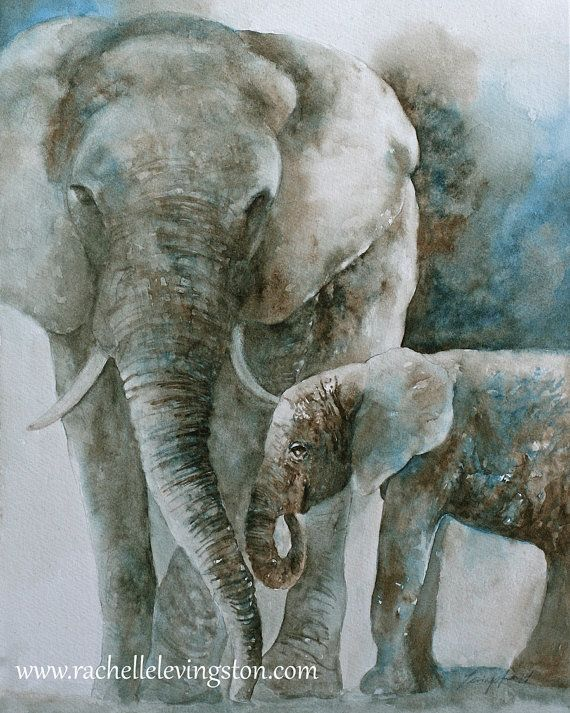 for baby boy nursery art PRINT nursery boy SET watercolor painting girl nursery decor africa wall art home decor wall elephant giraffe 11x14