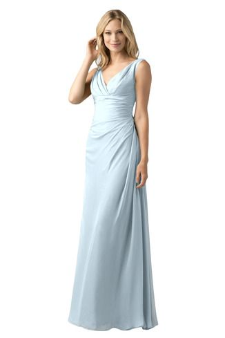 Shop Wtoo Bridesmaid Dress - 809 in Crystal Chiffon at Weddington Way. Find the perfect made-to-order bridesmaid dresses for your bridal party in your favorite color, style and fabric at Weddington Way.