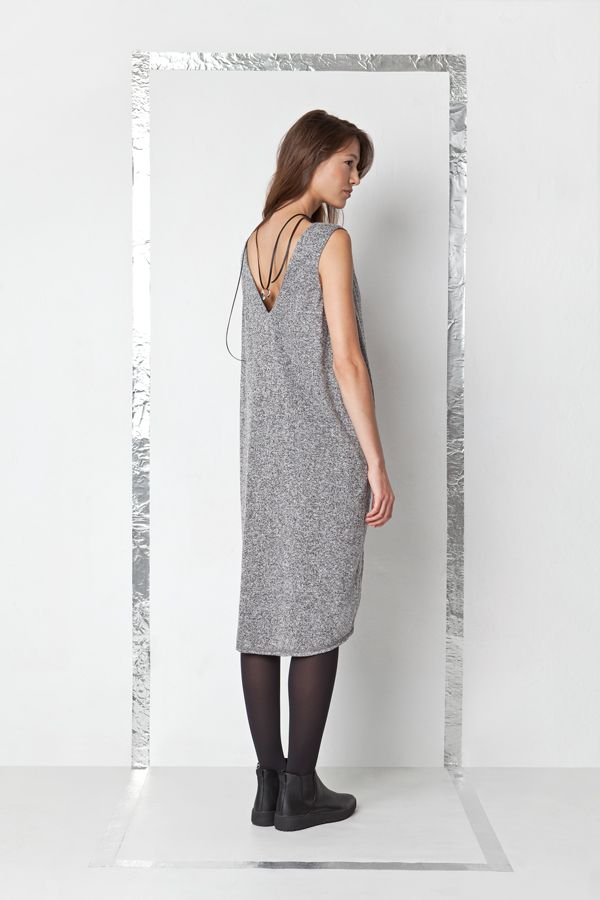 by Magda Hasiak: SAVESAFE  #savesafe #magdahasiak #polish #fashion #designer #dress #fw17 #autumn #winter #model #newcollection