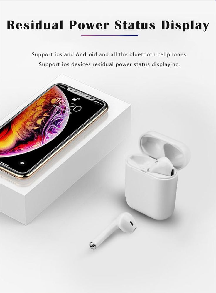 2020 TWS i9 V.5.0 True Wireless Bluetooth Sport Earbuds