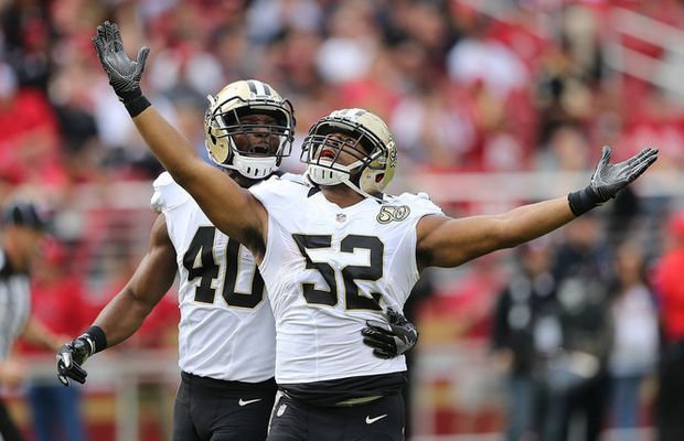 Saints' Mike Nolan on linebacker position battles: 'Competition is going to be there for some time'