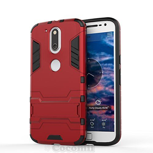 Motorola Moto G4 / G4 Plus Funda, Cocomii Iron Man Armor NEW [Heavy Duty] Premium Tactical Grip Kickstand Shockproof Hard Bumper Shell [Military Defender] Full Body Dual Layer Rugged Cover Case Carcasa XT1625 XT1644 (Red) #Motorola #Moto #Plus #Funda, #Cocomii #Iron #Armor #[Heavy #Duty] #Premium #Tactical #Grip #Kickstand #Shockproof #Hard #Bumper #Shell #[Military #Defender] #Full #Body #Dual #Layer #Rugged #Cover #Case #Carcasa #(Red)