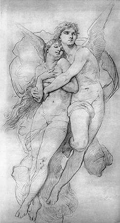 William Adolphe Bouguereau drawing