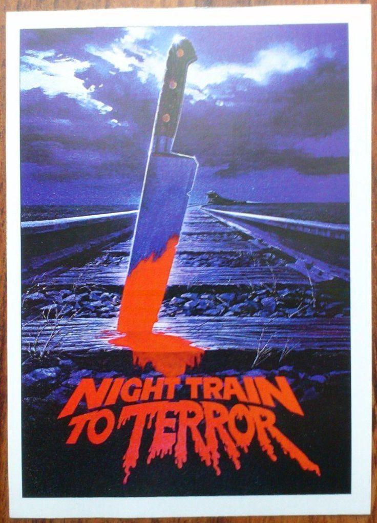 NIGHT TRAIN TO TERROR John Phillip Law Richard Moll Cameron Mitchell Photo Card | eBay
