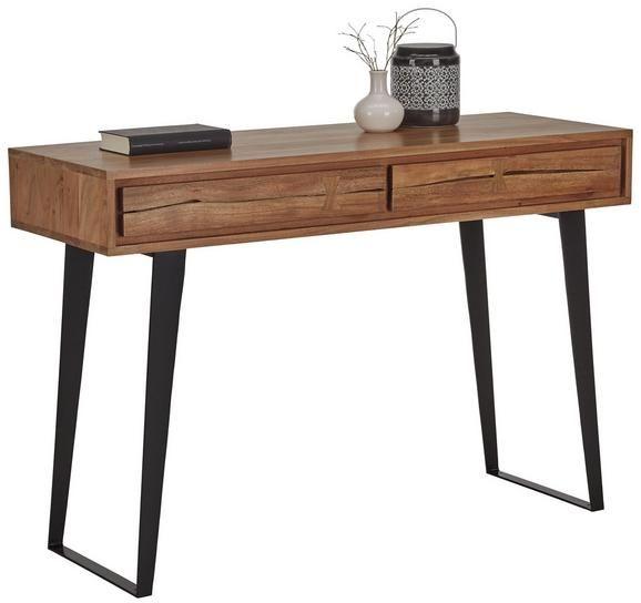 konsole akaziefarben online kaufen m max home office in. Black Bedroom Furniture Sets. Home Design Ideas