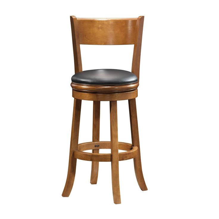 Inspirational Captain Chair Bar Stool with Swivel