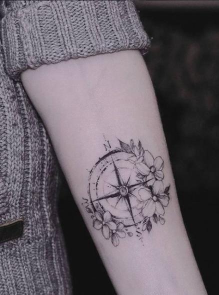 Tattoo frauen mandala kompass 50+ ideas - Tattoo #Frauen #