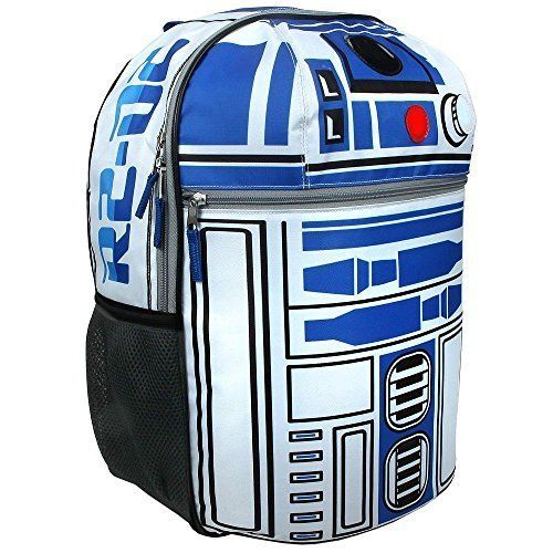 Star Wars R2D2 Boys 16 Inch Backpack   Features Lights and Sounds. #Star #Wars #Boys #Inch #Backpack #Features #Lights #Sounds