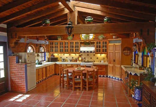 Mexican kitchen kitchen ideas pinterest cocinas for Cocinas estilo mexicano