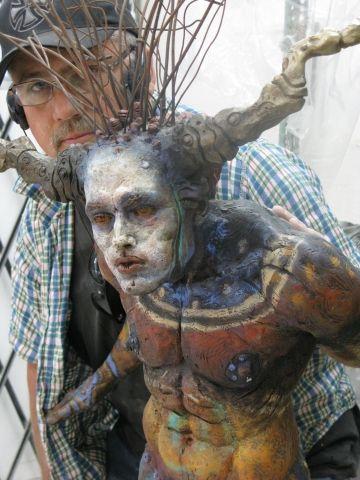 and white inspiration Street  Sculpture artwork instructors   Sculpture Studios George Artist jordan     Studio   air Lafayette Teale all