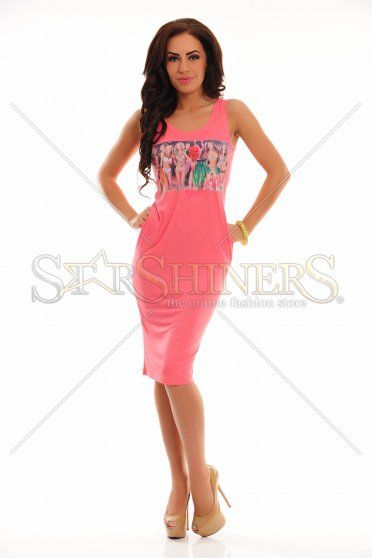 Rochie Ocassion Far Away Coral