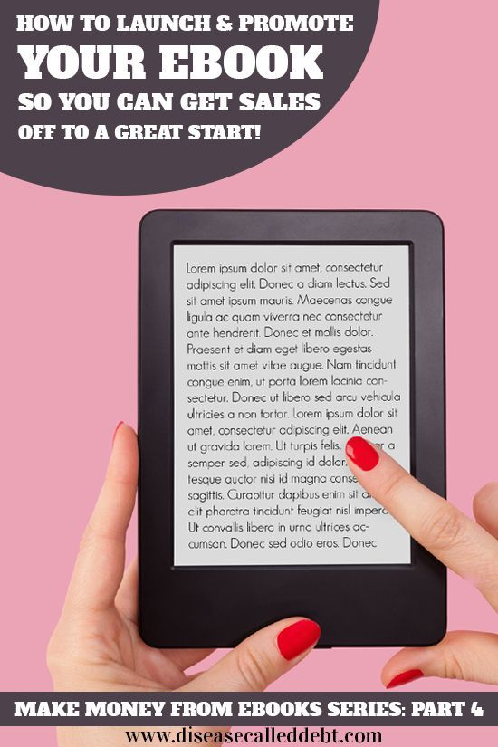Make money from eBooks - the fourth part in this series explains about the importance of eBook promotion and how to promote your eBook for free.
